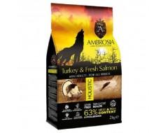 AMBROSIA DOG ADULT MINI FRESH TURKEY-SALMON 2K